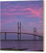 Sidney Lanier Bridge Wood Print