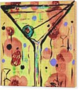 Sidzart Pop Art Martini This Is Sooo Mine Wood Print