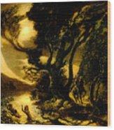 Siegfried And The Rhine Maidens Wood Print