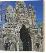 Siem Reap, Angkor Thom Wood Print