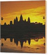 Siem Reap, Angkor Wat Wood Print