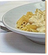 Siena-3-pasta With Four Cheeses Wood Print