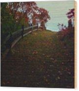 Siena In The Fall Wood Print