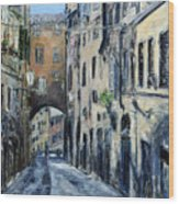 Siena Porta Wood Print