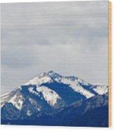 Sierra Blanca Early Spring Wood Print