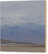 Sierra Nevada View Wood Print