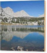 Sierra Reflection Wood Print