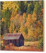 Sierra Solitude Wood Print