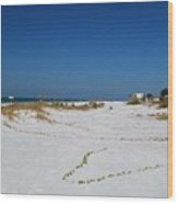 Siesta Key Beach Wood Print