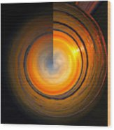 Siesta Key Beach Sunset - Circular 3 Wood Print