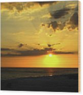 Siesta Sundown Wood Print