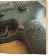 Sig Sauer P-250 Wood Print