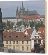 Sight At Prague Wood Print