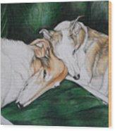 Sighthound Comfort Wood Print