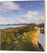 Sightseeing Southern Tasmania Wood Print