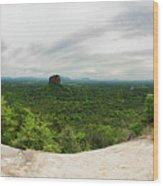 Sigiriya Panorama Wood Print