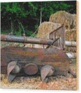 Signal Failure Wood Print