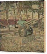 Signature Of War   Wood Print