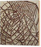 Signs - Tile Wood Print