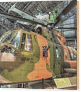 Sikorsky Hh-3 Jolly Green Giant Wood Print