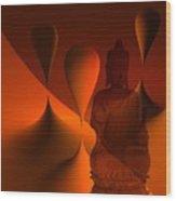 Silence -3- Wood Print