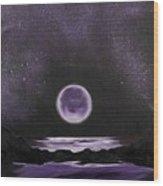 Silence of the Night Wood Print