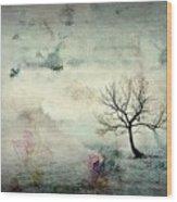 Silence To Chaos - 5502c3 Wood Print