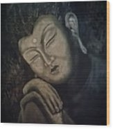 Silent Meditations Wood Print
