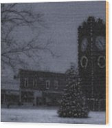 Silent Night Wood Print