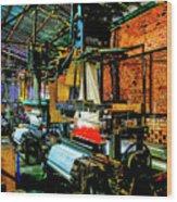Silk Looms Wood Print