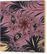 Silken Pleasures Wood Print