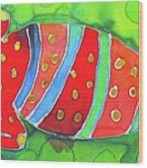 Silky Gecko Wood Print