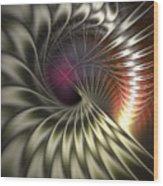 Silky Petals Wood Print