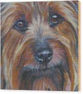 Silky Terrier Wood Print