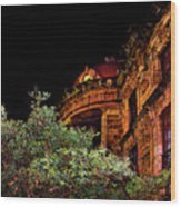 Silly Hall, Cuenca, Ecuador II Wood Print