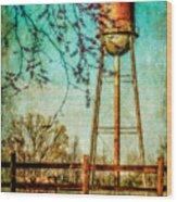 Siluria Cotton Mill Wood Print