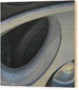 Silver Abstract Wood Print