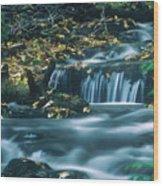 Silver Creek Wood Print