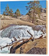 Silver Creek Up High Wood Print