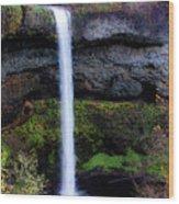 Silver Falls State Park Oregon 4 Wood Print