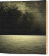 Silver Light Wood Print