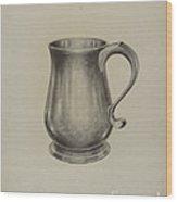 Silver Mug Wood Print
