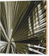 Silver Palm Wood Print