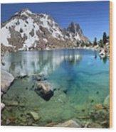 Silver Pass Tarn - Johm Muir Trail Wood Print