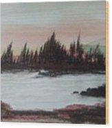Silverlake Wood Print