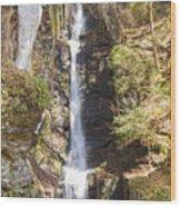 Silverthread Falls Wood Print