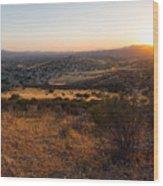Simi Valley  Wood Print