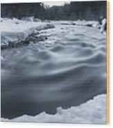 Similkameen River Wood Print