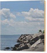 Simmons Island 1 Wood Print