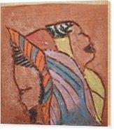 Simona And Martha - Tile Wood Print